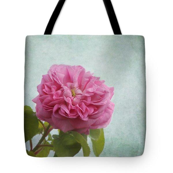 A Rose Tote Bag by Kim Hojnacki