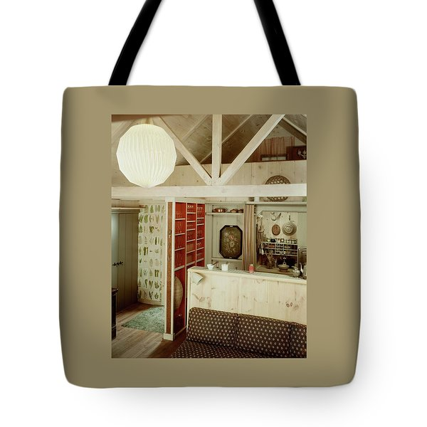 A Rustic Kitchen Tote Bag
