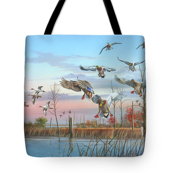 A Safe Return Tote Bag