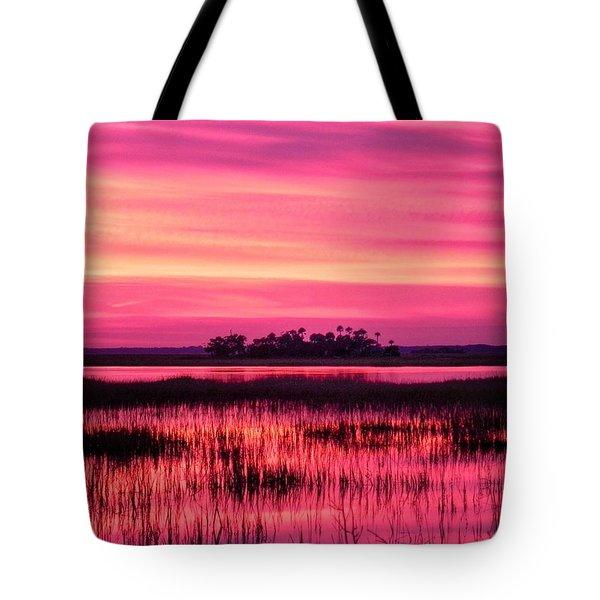A Saint Helena Island Sunset Tote Bag