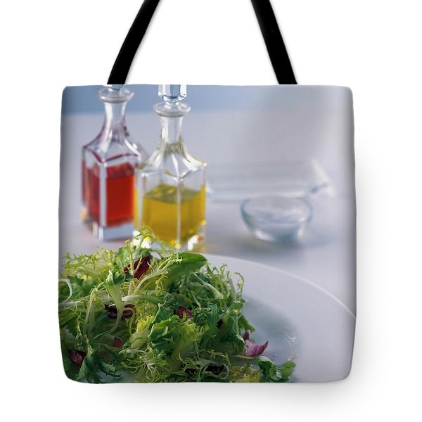 A Salad With Dressings Tote Bag