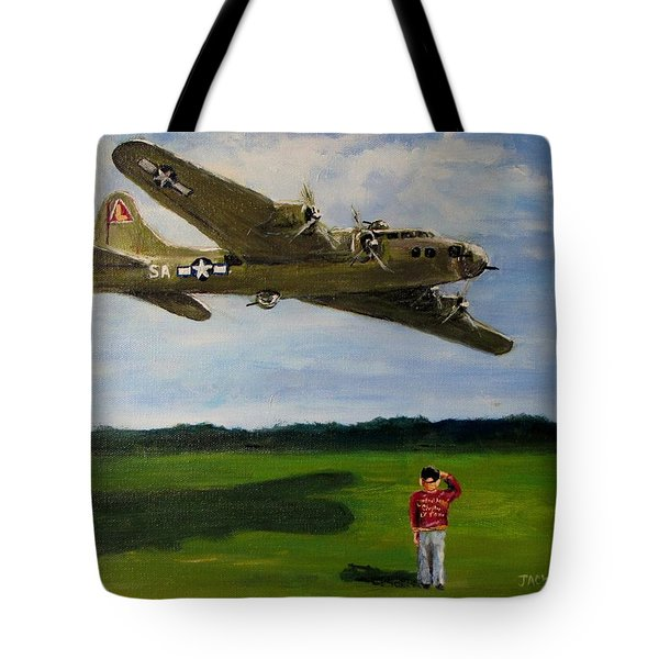A Salute To The Greatest Generation Tote Bag by Jack Skinner