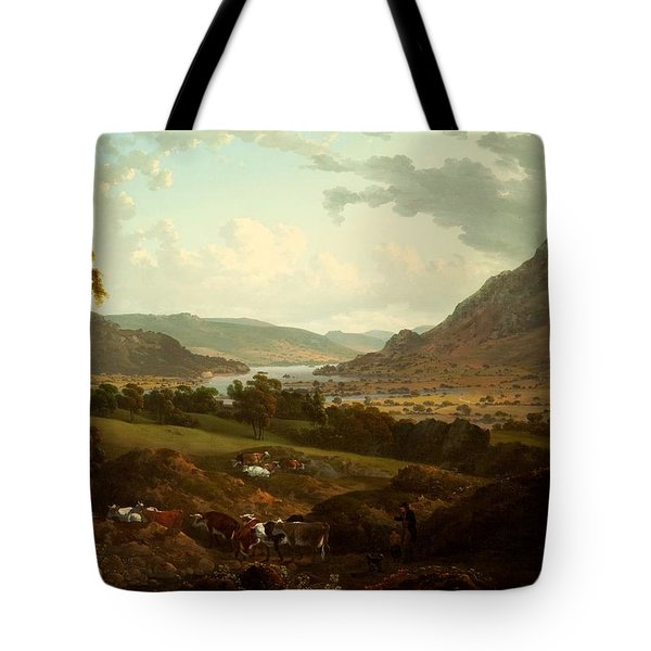 A Scene In The Lake District Tote Bag