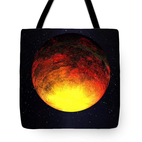 A Scorched World Kepler-10b  Tote Bag by Movie Poster Prints