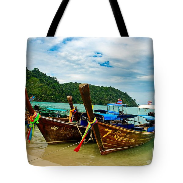 A Series Of Long Tails Tote Bag