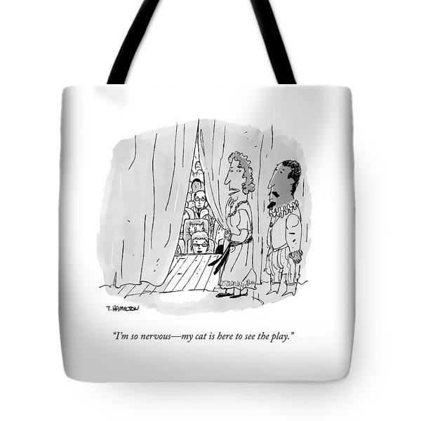 A Shakespearean Actress Says To Her Costar Tote Bag