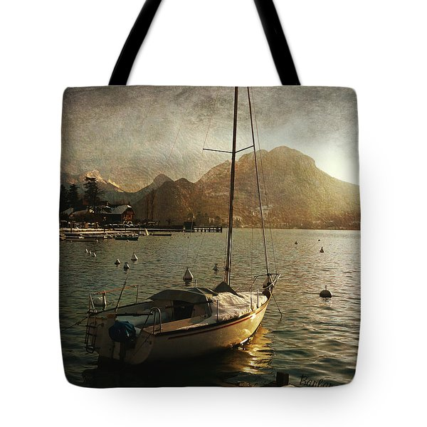 A Ship In Port Tote Bag