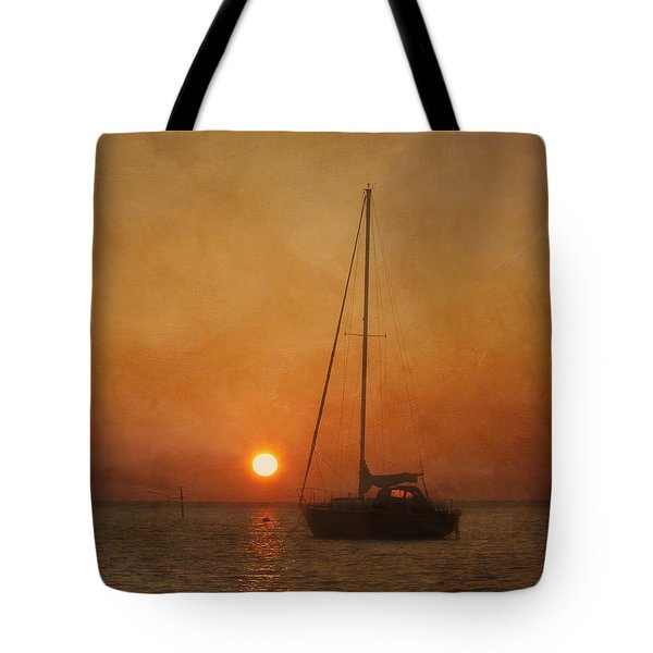 A Ship In The Night Tote Bag
