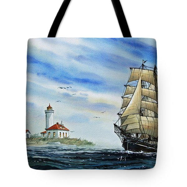 A Ship There Is Tote Bag