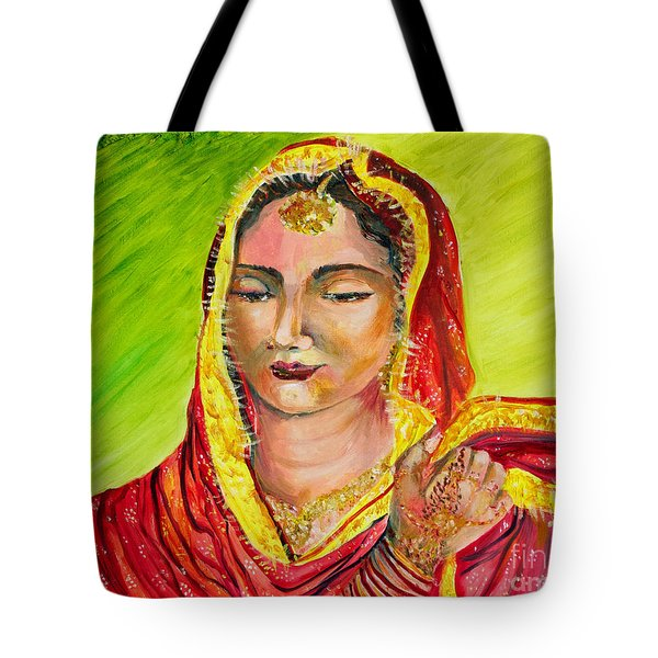 A Sikh Bride Tote Bag