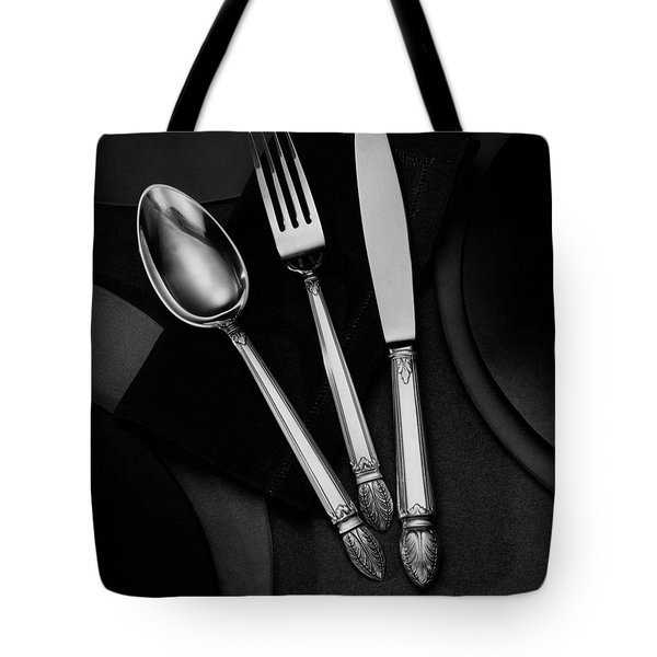 A Silver Spoon Tote Bag