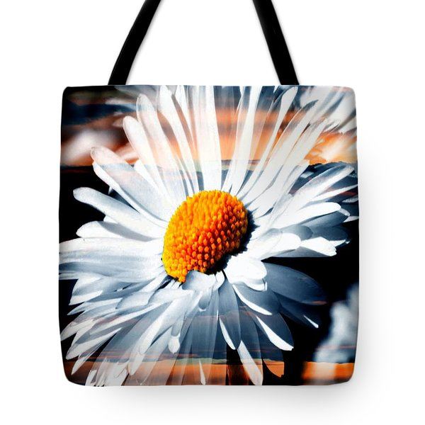 A Simple Daisy Tote Bag
