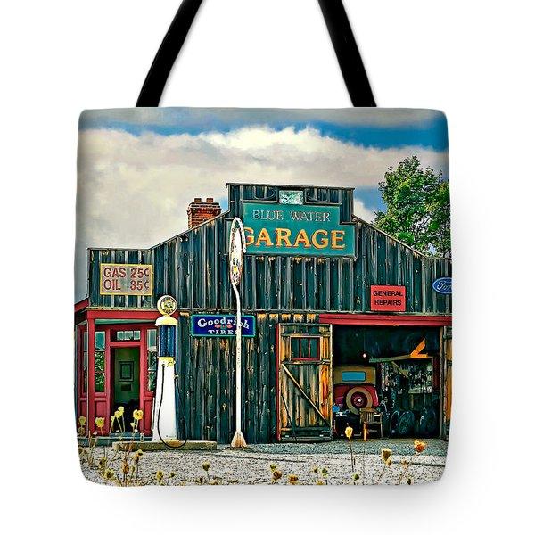 A Simpler Time Tote Bag by Steve Harrington