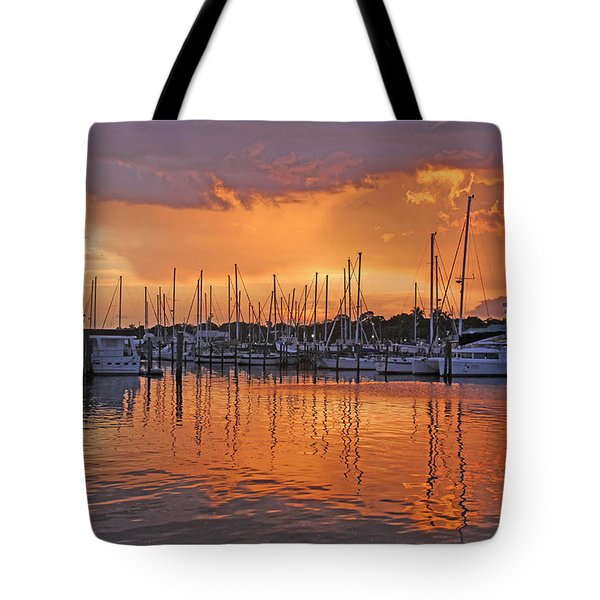 A Sky Full Of Wonder - Florida Sunset Tote Bag by HH Photography of Florida