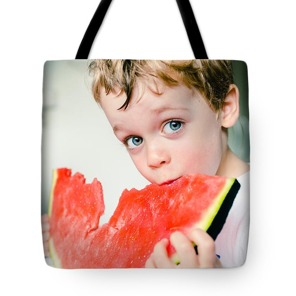 A Slice Of Life Tote Bag by Marco Oliveira