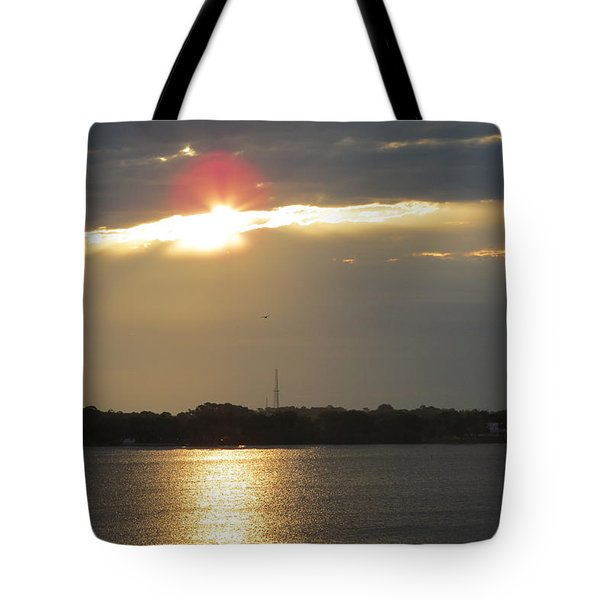 A Slot For The Sun Tote Bag