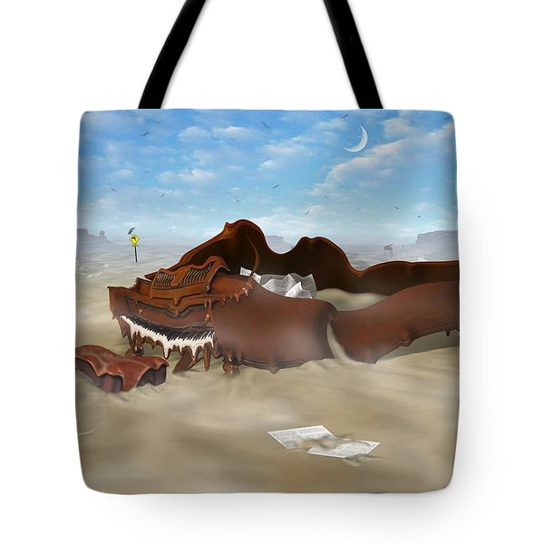 A Slow Death In Piano Valley Tote Bag by Mike McGlothlen