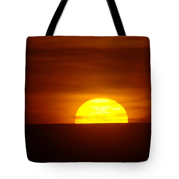 A Slow Sunset Tote Bag by Jeff Swan