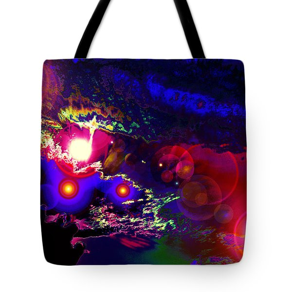 A Small Act Of Evening Magic Tote Bag