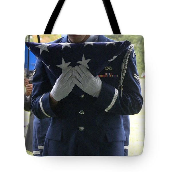 A Soldiers Sorrow Tote Bag