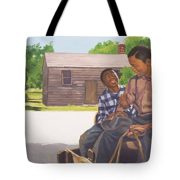 A Sons Comfort Tote Bag by Colin Bootman
