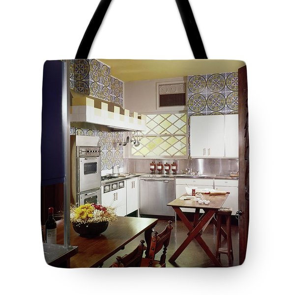 A Spanish-style Kitchen Tote Bag