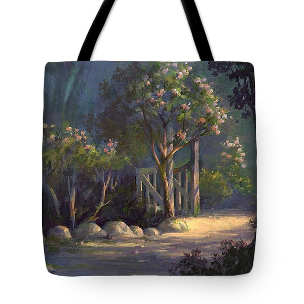 Tote Bag featuring the painting A Special Place by Michael Humphries