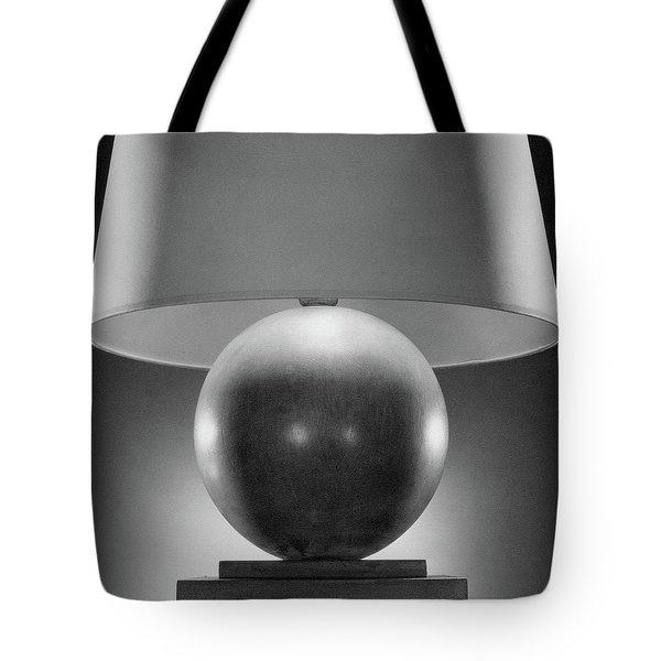 A Spherical Lamp By Joseph Mullen Tote Bag