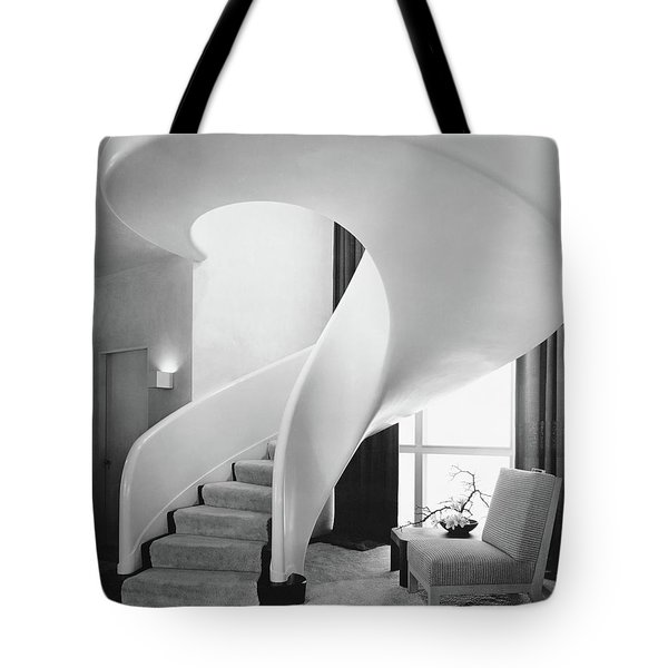 A Spiral Staircase Tote Bag