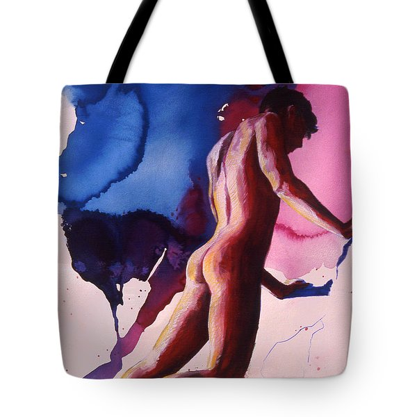 Splash Of Blue Tote Bag