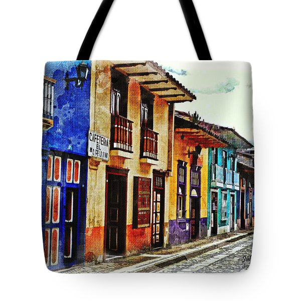 A Splash Of Color Tote Bag