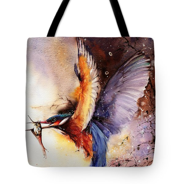 A Splash Of Colour Tote Bag