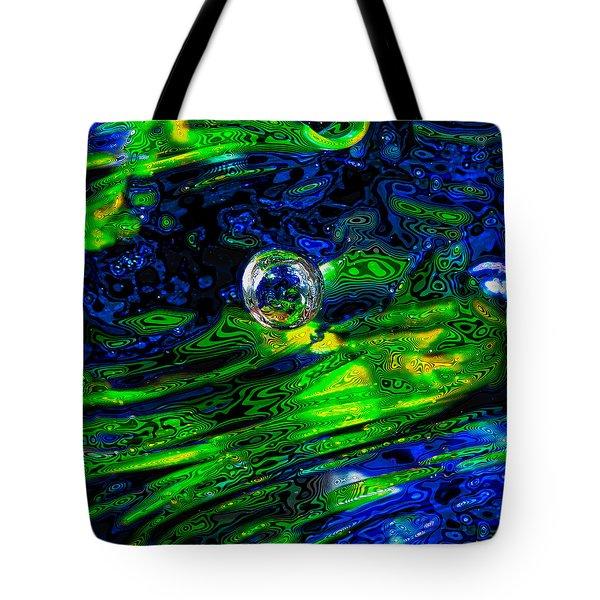 A Splash Of Seahawks Tote Bag