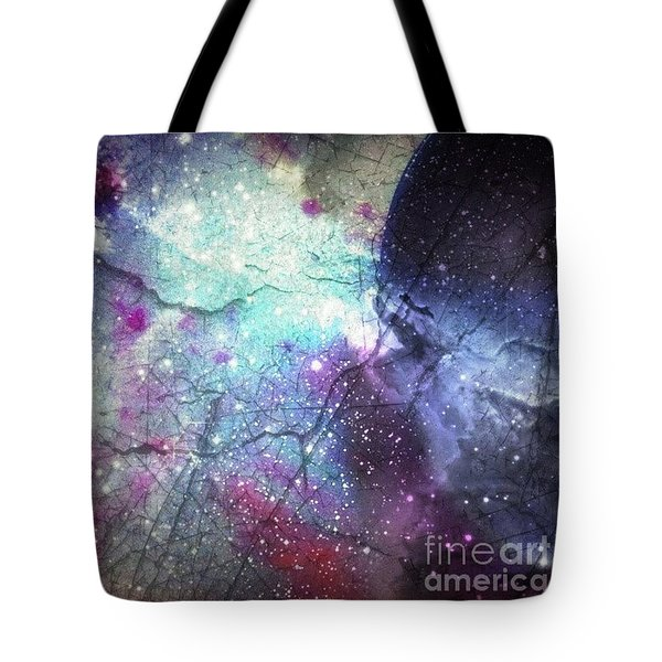 A Spoon #phoneart #abstract Tote Bag by Isabella F Abbie Shores FRSA