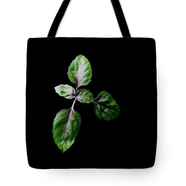 A Sprig Of Basil Tote Bag