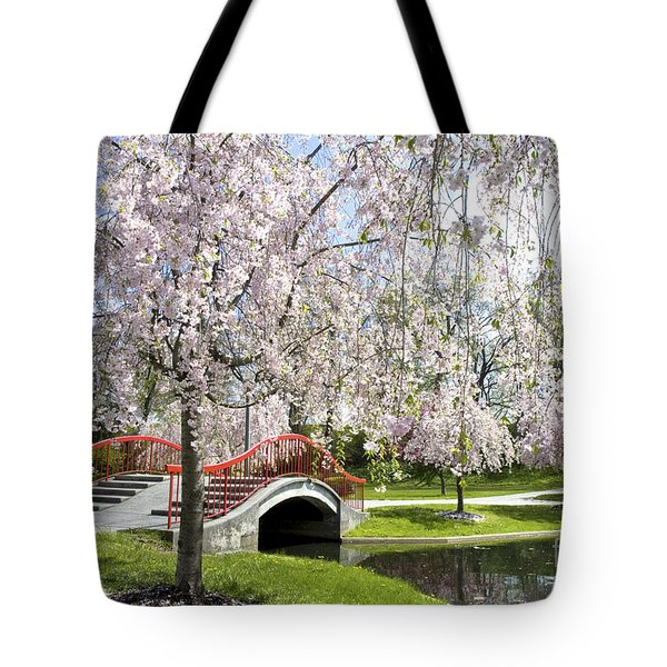 A Spring Walk Tote Bag by Paul W Faust -  Impressions of Light