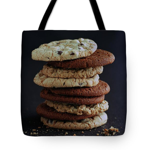 A Stack Of Cookies Tote Bag