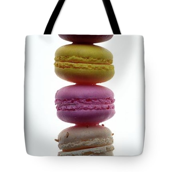 A Stack Of Macaroons Tote Bag