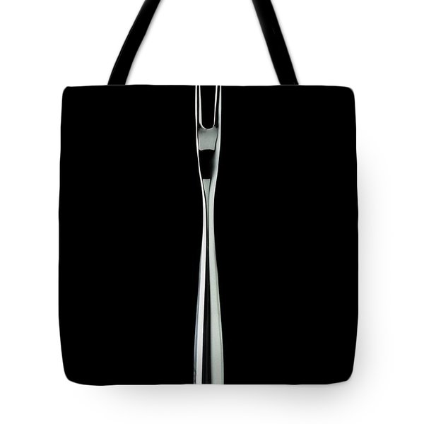 A Stainless Steel Fork Tote Bag