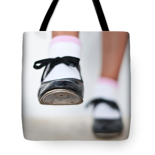 Old Tap Dance Shoes From Dance Academy - A Step Forward Tap Dance Tote Bag