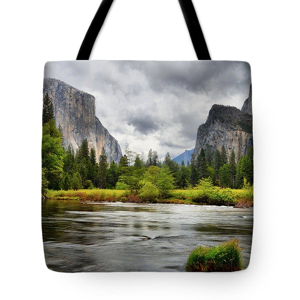 A Storm Draws Near  Tote Bag
