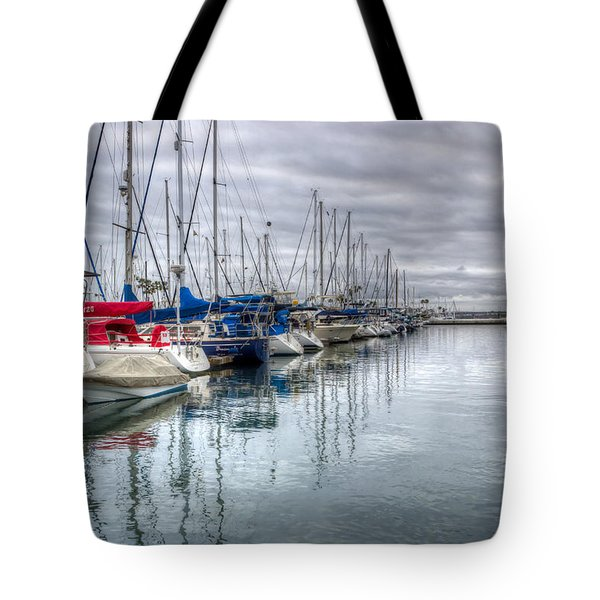 A Storm Was Brewing Tote Bag by Heidi Smith