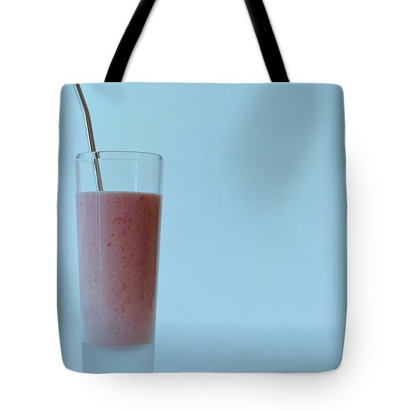 A Strawberry Flavored Drink Tote Bag