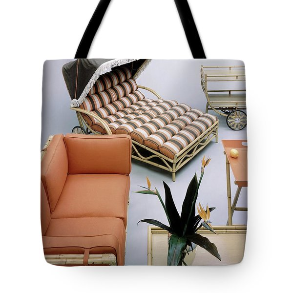 A Studio Shot Of Furniture Tote Bag