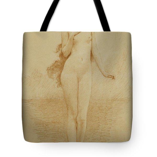 A Study For The Birth Of Love Tote Bag by Solomon Joseph Solomon