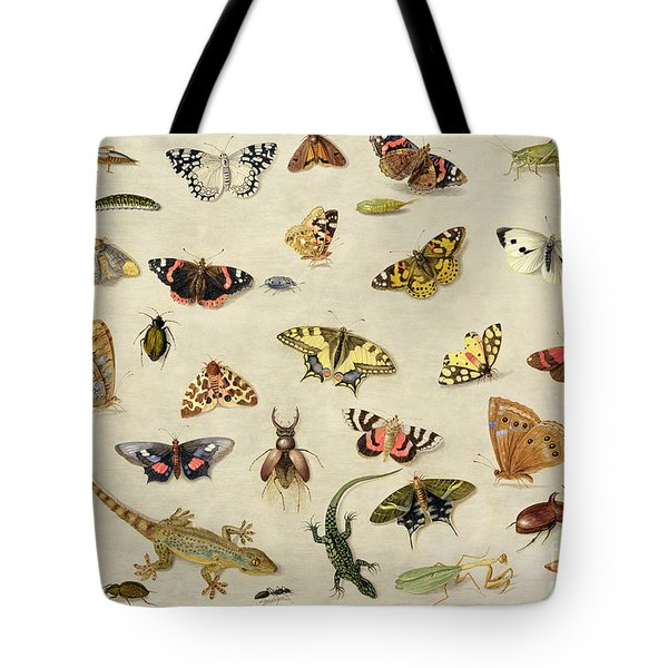 A Study Of Insects Tote Bag