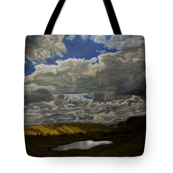 A Summer Day On Cottonwood Pass Tote Bag by Thu Nguyen