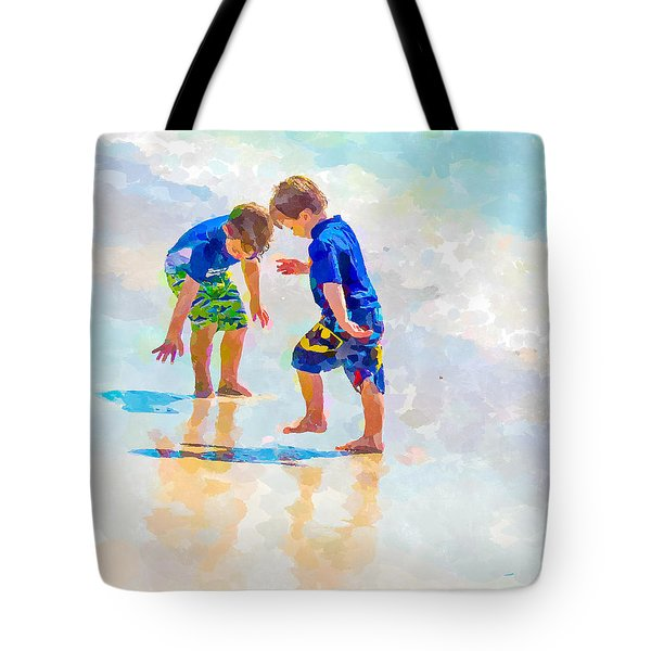 A Summer To Remember Iv Tote Bag