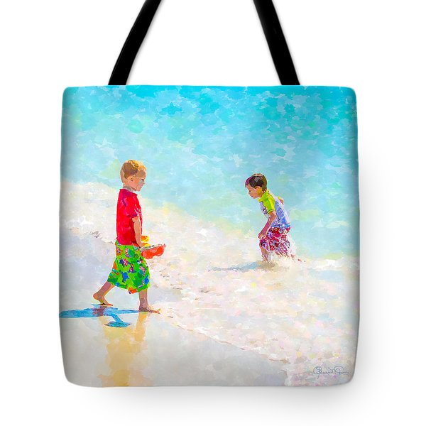A Summer To Remember V Tote Bag