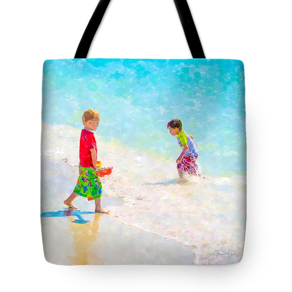 A Summer To Remember V Tote Bag by Susan Molnar